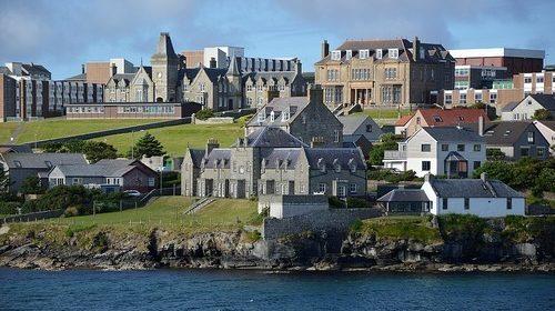 Shetland – litt norsk